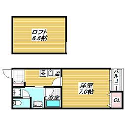 メゾン・ボラージュ[5階]の間取り