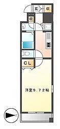 プロシード千代田[11階]の間取り