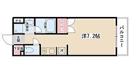 レジデンス田中[302号室]の間取り