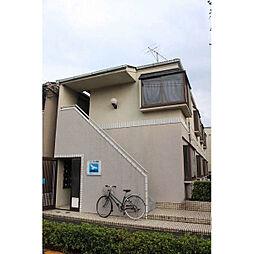 東京都足立区大谷田4丁目の賃貸アパートの外観