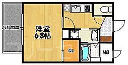 DSタワー大博通り[15階]の間取り