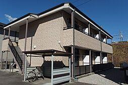 愛知県岡崎市天白町字吉原の賃貸アパートの外観