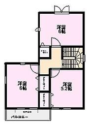 [一戸建] 茨城県つくば市上境春風台 の賃貸【/】の間取り