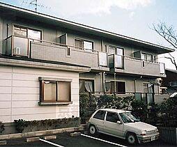 京都府京都市右京区宇多野福王子町の賃貸マンションの外観