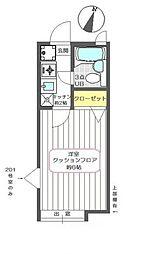 東京都江戸川区新堀1丁目の賃貸アパートの間取り