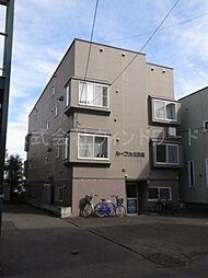 北海道札幌市中央区北五条西20丁目の賃貸アパートの外観