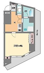 パークハイム渋谷[0905号室]の間取り