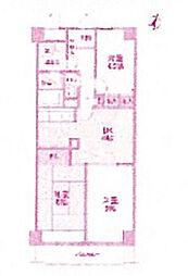 リオ梶ヶ谷II[2階]の間取り