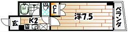 No.20 ハーバービュー戸畑[2階]の間取り