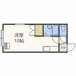 フロンティアK3[2階]の間取り