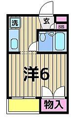マ・メゾンアヤセ[306号室]の間取り
