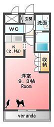 ピュアステージ[2階]の間取り