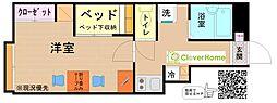 東京都町田市金井4丁目の賃貸アパートの間取り