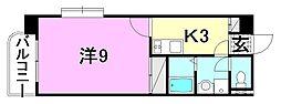 ロイヤルコート2[401 号室号室]の間取り