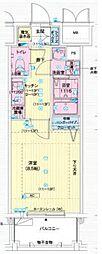 エスティ・ロアール神戸駅前[3階]の間取り
