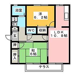 iホームTOWN 壱番館[1階]の間取り