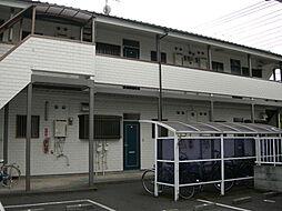東京都調布市深大寺南町4丁目の賃貸アパートの外観