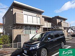 滋賀県大津市本丸町の賃貸アパートの外観