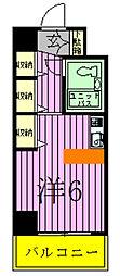 ジュネパレス松戸第94[302号室]の間取り
