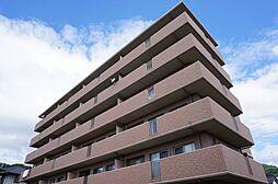 広島県広島市安佐南区山本4丁目の賃貸マンションの外観
