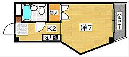 メゾネットTAKESHIMA[303号室]の間取り