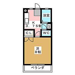settle MARUKA[1階]の間取り