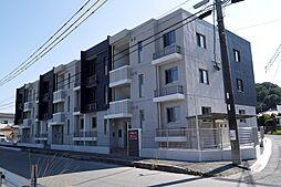 福岡県飯塚市平恒の賃貸マンションの外観