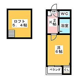 MTコーポ[1階]の間取り
