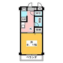 イーストコート21[2階]の間取り
