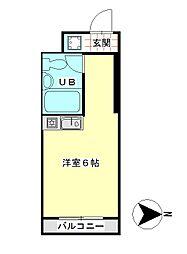 丸宏マンション[2階]の間取り