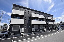栃木県宇都宮市大和2丁目の賃貸アパートの外観