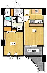 インペリアル六本木1号館[7階]の間取り