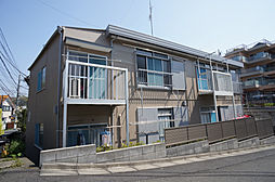 栗谷コーポ[102号室]の外観