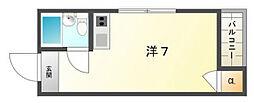 ロータリーマンション門真一番[4階]の間取り