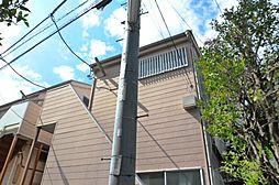 千葉県市川市新田1の賃貸アパートの外観