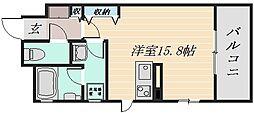 広島県広島市安佐南区東原3の賃貸マンションの間取り