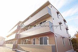 神奈川県藤沢市下土棚の賃貸アパートの外観