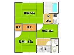 [一戸建] 兵庫県伊丹市北伊丹3丁目 の賃貸【兵庫県 / 伊丹市】の間取り
