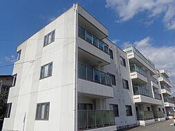 兵庫県三木市加佐の賃貸マンションの外観