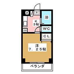 417ハイツ[2階]の間取り