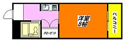 シャローム・高井田 402号室[4階]の間取り