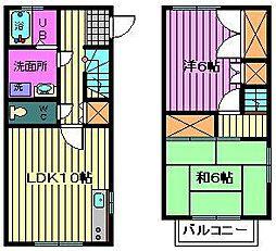 [テラスハウス] 埼玉県さいたま市南区辻8丁目 の賃貸【/】の間取り