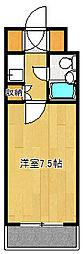 第13宮田ビル[112号室]の間取り