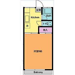 椿山荘[1階]の間取り
