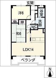 LORD・LI・EST[1階]の間取り