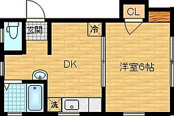 KHハウス[2階]の間取り