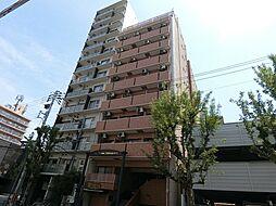 ライオンズマンション西長堀[11階]の外観