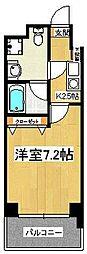 エレンシアK[203号室]の間取り