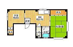 小野ハイム[2階]の間取り