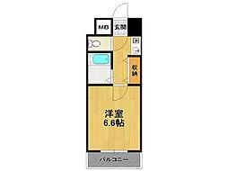ビバハイツ伊丹[4階]の間取り